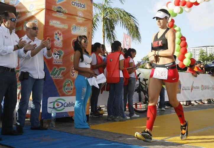 La jornada deportiva dio inicio a las 05:30 horas. (Cortesía/SIPSE)