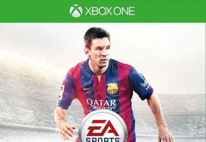 El jugador argentino aparecerá en la portada del videojuego por cuarta vez consecutiva. (EA sports)