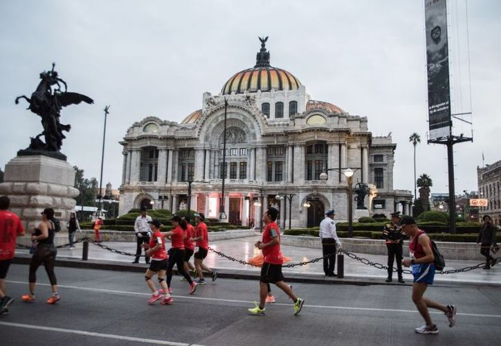 El Maratón de la Ciudad de México se perfila como uno de los más importantes a nivel internacional. (El Financiero)