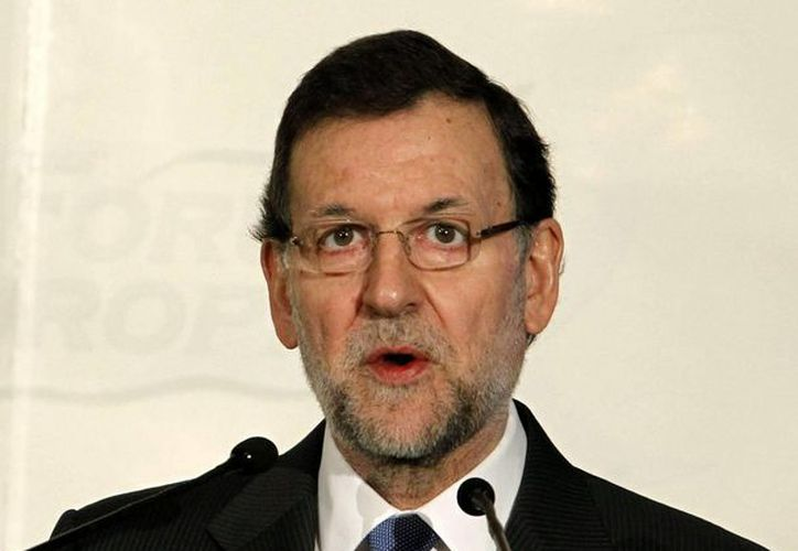 El presidente español, Mariano Rajoy, recordó a las víctimas. (EFE)