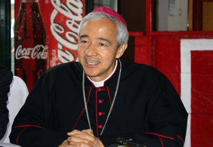 Patrón Wong también ha sido  vocero de la Arquidiócesis de Yucatán, entre otros cargos.  (SIPSE)