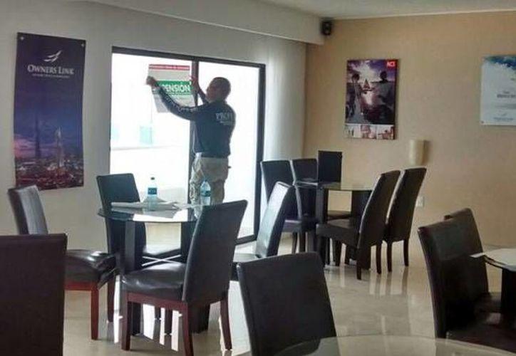 El operativo se realizó en ocho hoteles. (Israel Leal/SIPSE)