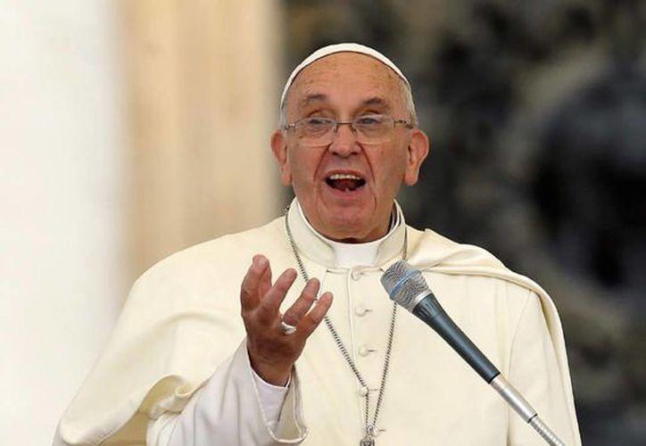 El Papa Francisco dio a conocer su argumento teológico sobre el imperativo de frenar el cambio climático y proteger el medio ambiente en una encíclica. (Agencias)