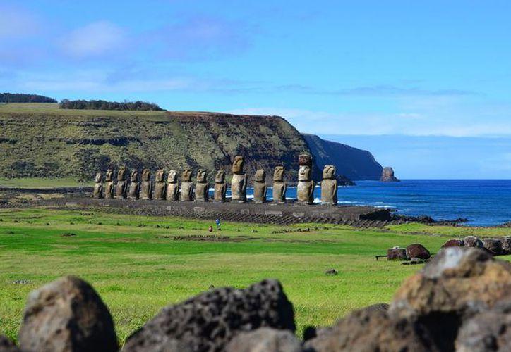 El aumento en el nivel de las aguas, podría acabar por completo con las piezas arqueológicas. (Foto: Vistazo)