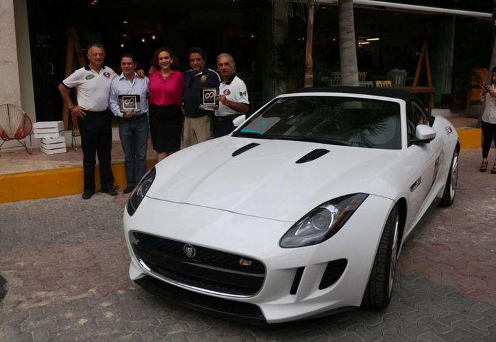 Esta es la segunda edición del Rally Maya, el año pasado también pasó por Playa del Carmen el 8 de mayo. (Archivo/SIPSE)
