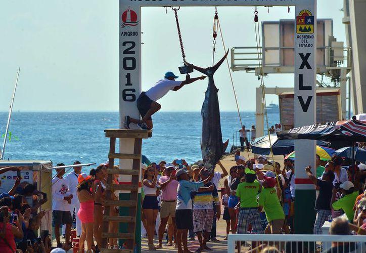 El evento es el más antiguo de Cozumel.  (Gustavo Villegas/SIPSE)