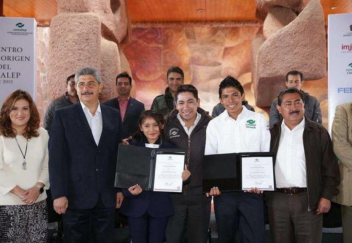 Gelmy Uc fue reconocida en la Ciudad de México donde se llevó a cabo el encuentro. (Redacción/SIPSE)