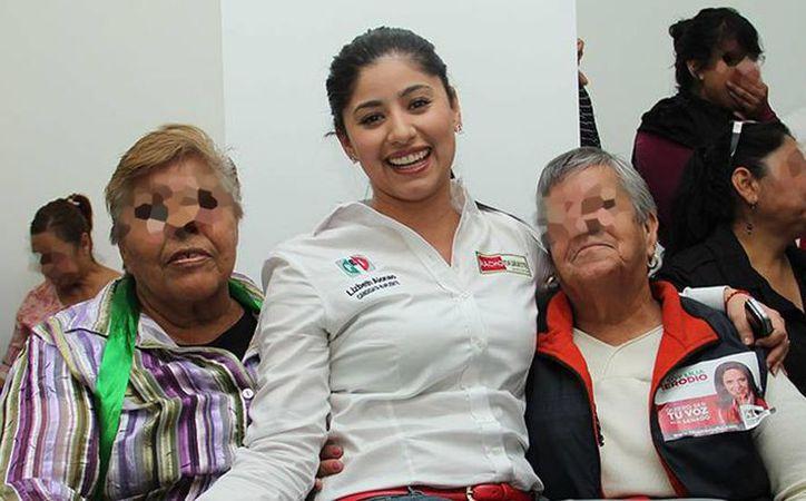 Ella tiene 36 años, ella se jubilará con más de 21 mil pesos al mes; ella es del PRI y se llama Lizbeth Alonso Carreón. (Archivo/Twitter)