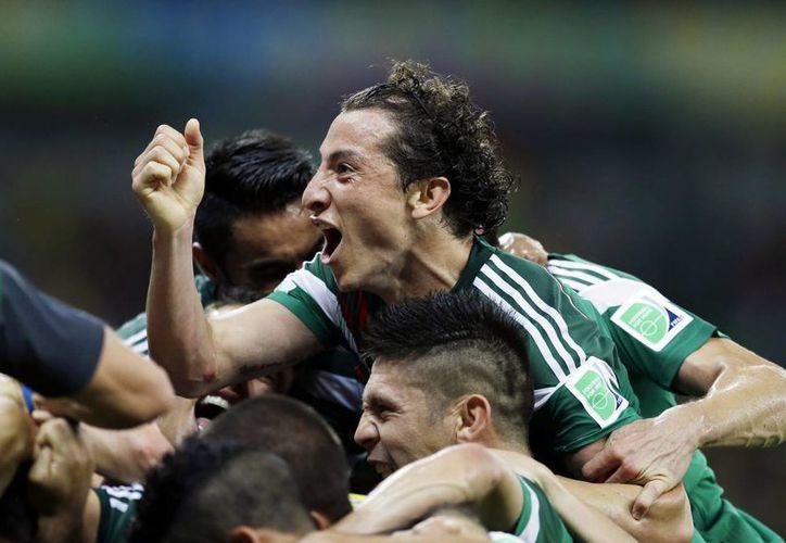 Los mexicanos taparon la boca al entrenador y a algunos jugadores de Croacia, que habían declarado que México tuvo suerte en su partido contra Brasil. (Foto: AP)