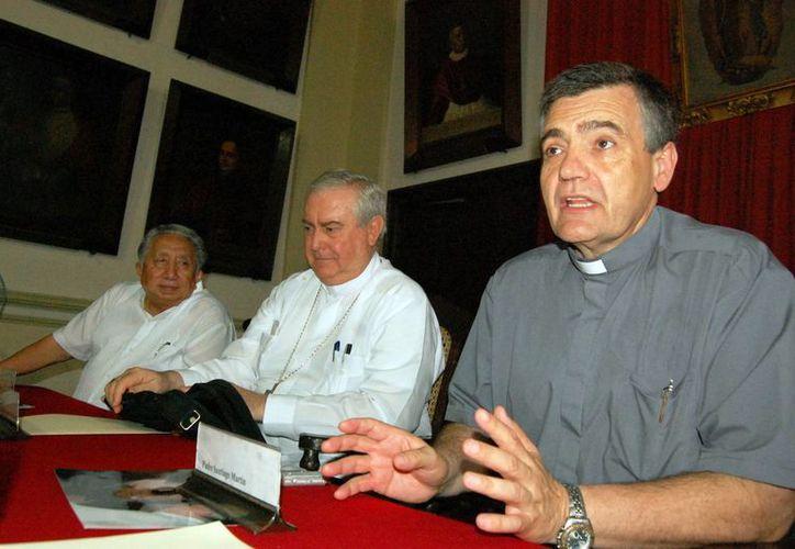 El padre Santiago Martín Rodríguez fundó la congregación Franciscanos de María. (Milenio Novedades)