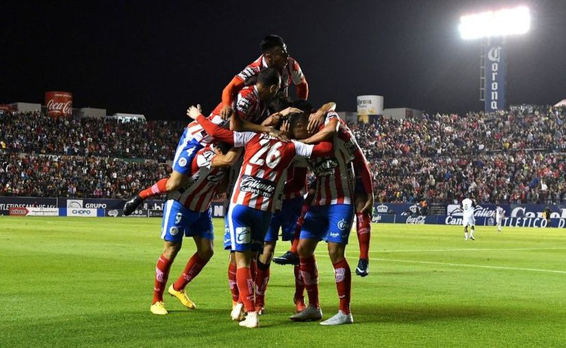 Con el triunfo, San Luis se perfila rumbo a la Final del Apertura 2018. (milenio.com)