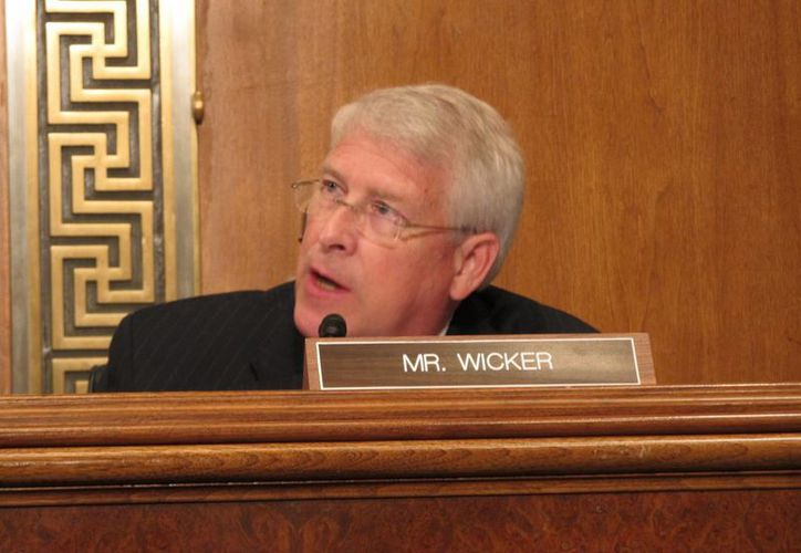 La carta tenía como destinatario al senador republicano Roger Wicker. (media.al.com)