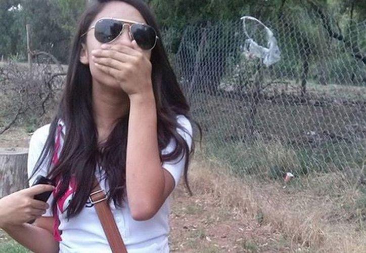 Alondra Luna Núñez fue sacada de su colegio en Guanajuato por agentes federales adscritos a la Interpol. (Facebook Rubén Nuñez)