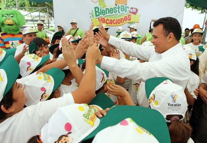 El programa busca promover los valores en niños yucatecos. (Cortesía)