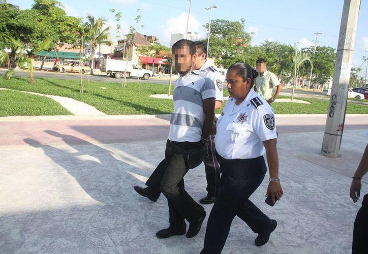 Según datos preliminares el ladrón es un indocumentado que reside en Cancún. (Sergio Orozco/SIPSE)