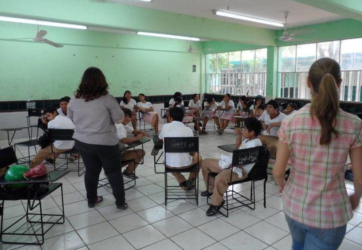 En la Secundaria General No. 5 'Manuel Crescencio Rejón y Alcalá' los grupos son reducidos y hay atención más personalizada para los estudiantes. (general5tv1.blogspot.mx/)