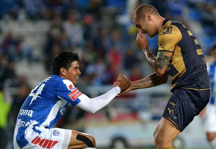Tuzos y Pumas se dieron la mano en la jornada 9 del Apertura 2013. (Agencias)