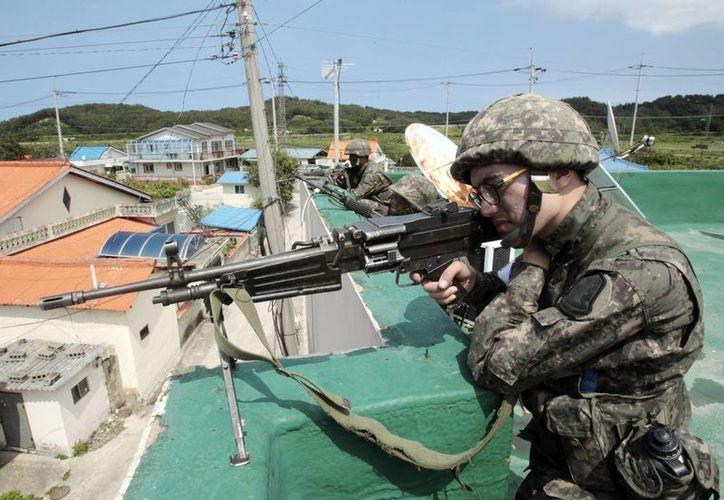 El uniformado que perpetró el ataque era considerado 'soldado bajo protección'. (AP)