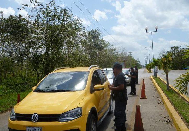 Piden a los automovilistas no conducir en estado de ebriedad. (Raúl Balam/SIPSE)