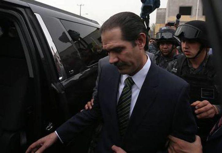 Padrés se encuentra preso en el Reclusorio Oriente. Se le acusa de fraude y operaciones con recursos de procedencia ilícita. (Archivo/SIPSE)