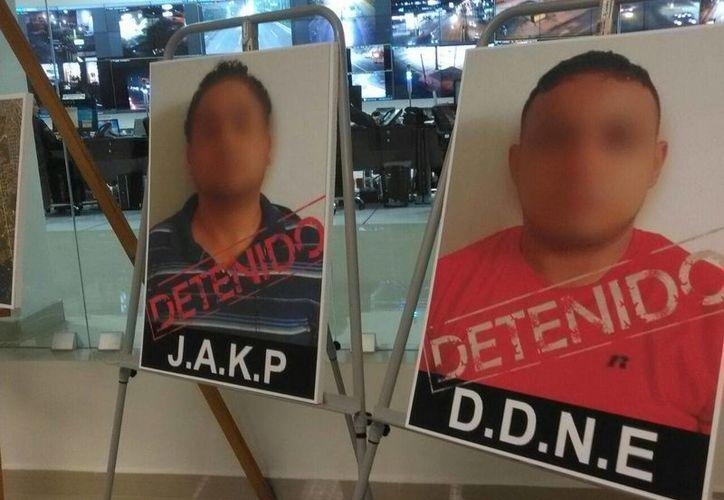 Los 2 detenidos, acusados de golpear a chofer de Uber, ya están en la cárcel, luego de ser presentados ante el juez de control. (Luis Fuente/SIPSE)