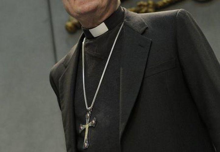 Gianfranco Ravasi llegando a una conferencia de prensa en el Vaticano. (Agencias)