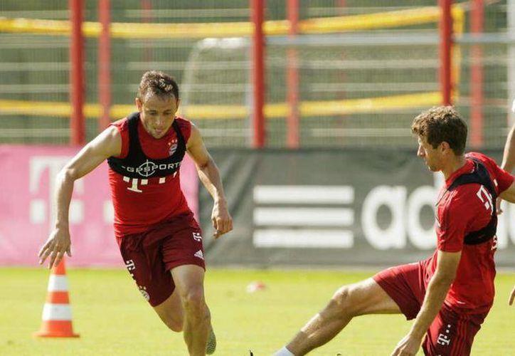 El delantero Thomas Müller y su entrenador en el Bayern Múnich, Pep Guardiola, tuvieron una disputa a gritos en un entrenamiento a puerta cerrada del Bayern. (bild.de)