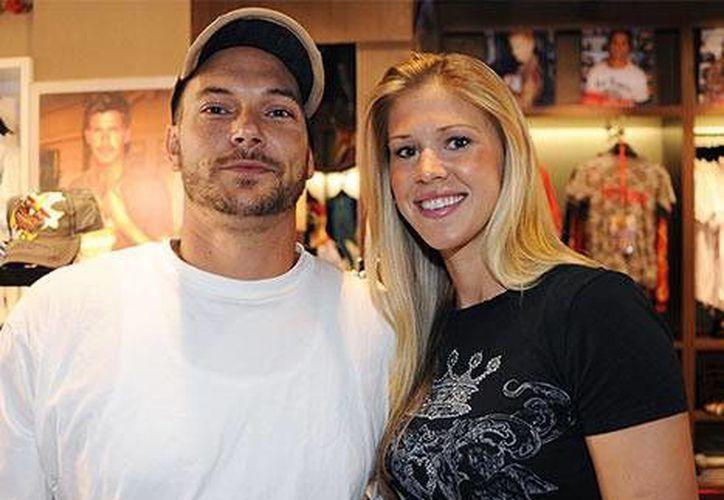 Kevin Federline y Victoria Prince ya tienen una hija. (usmagazine.com)