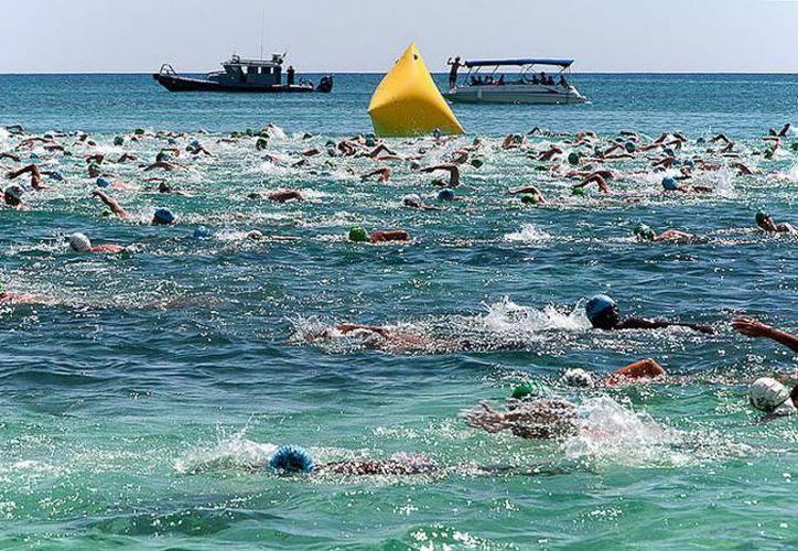 Los competidores recorrerán distancias de 250 metros, 1.25, 2.5, 5 y 10 kilómetros. (Redacción/SIPSE)