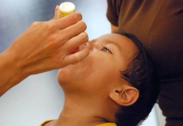 Piden a los padres de familia acudir con sus hijos a las unidades de salud para solicitar la aplicación de las vacunas. (Tomás Álvarez/SIPSE)