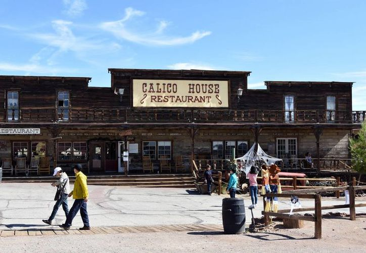 El Pueblo Fantasma en Calico, es la recreación de una comunidad minera del viejo oeste californiano.  (EFE)