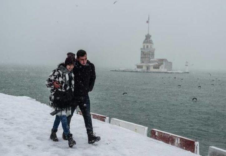 El año 2017 ha comenzado muy frío para Europa. (Foto tomada de globedia.com)