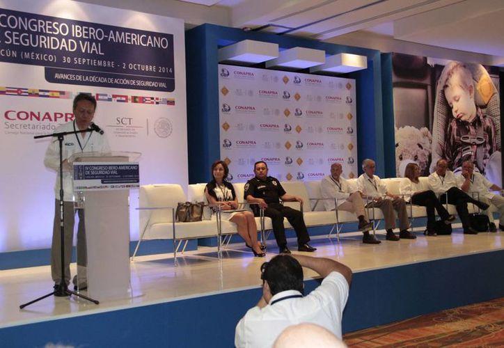 Se realiza en este destino el IV Congreso Ibero-Americano de Seguridad Vial. (Tomás Álvarez/SIPSE)