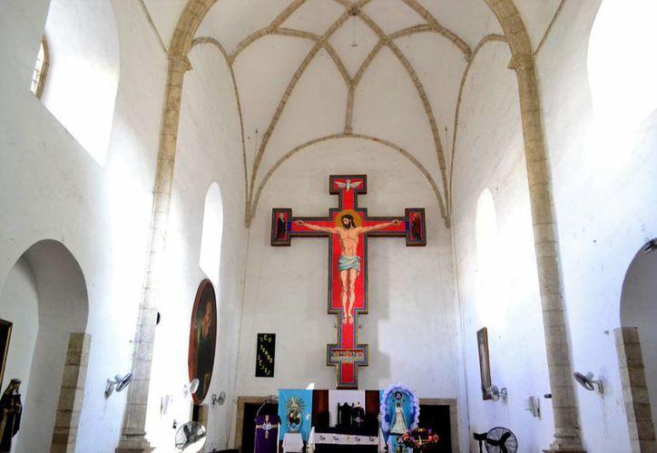 La iglesia conocida como 'Las Monjas' es de un gran legado arquitectónico e histórico. (Daniel Sandoval/Milenio Novedades)