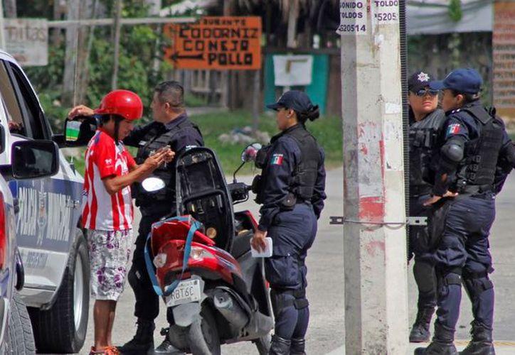 Mesa de seguridad contempla el proyecto de corredores seguros. (Foto: SIPSE)