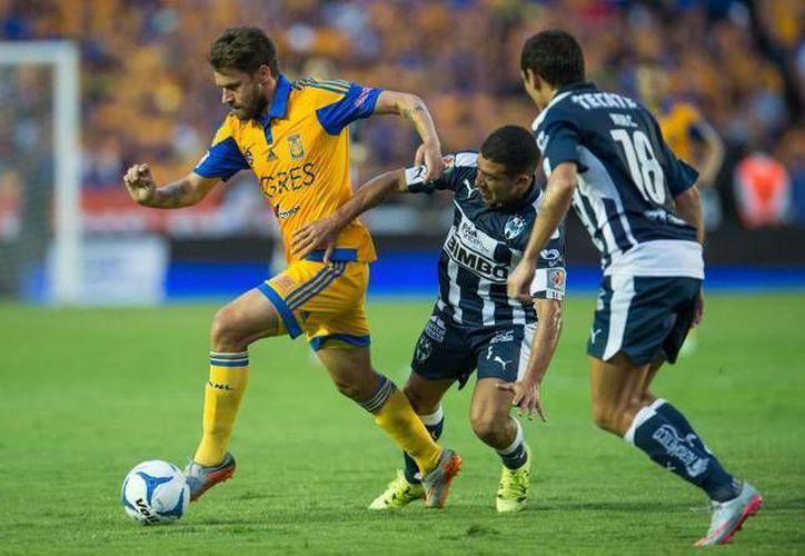 Las plantillas más caras de la Liga MX corresponden a los equipos de la Sultana del Norte. Rayados y Tigres tienen en conjunto casi 100 millones de euros invertidos en sus jugadores. (Archivo Mexsport)