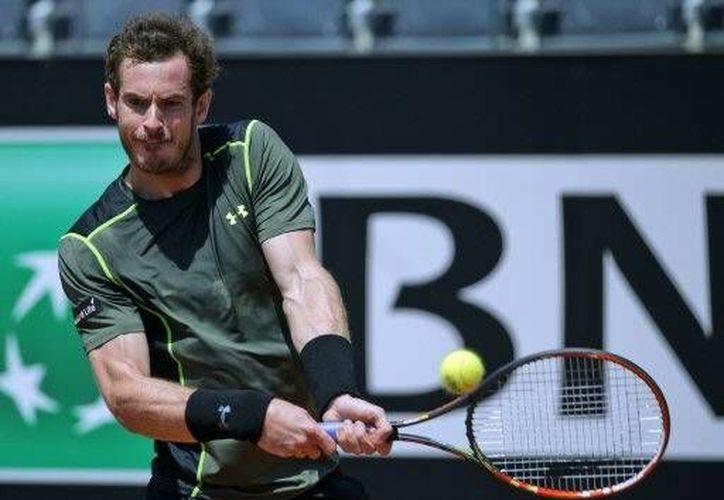 Andy Murray avanzo en el  abierto de Italia, tras derrotar a Jeremy Chardy(AP)