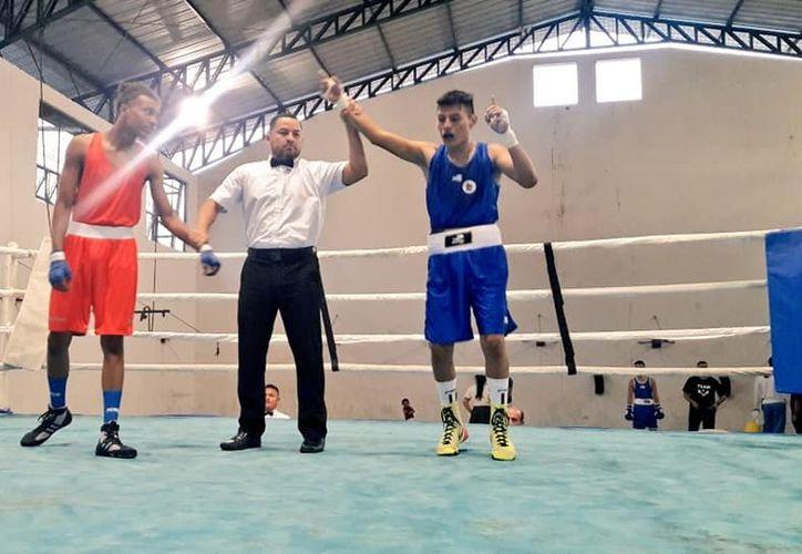 Zaid Yam es promesa del boxeo yucateco. (Foto: Novedades Yucatán)