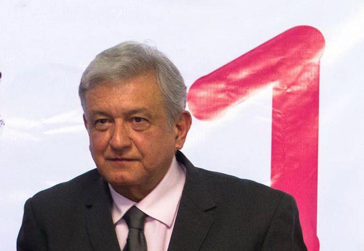 """""""Está en la Constitución el respetar los derechos de los ciudadanos"""": López Obrador. (Notimex)"""