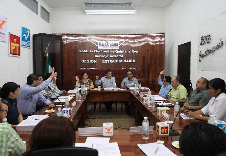 La redistritación aprobada por el consejo general del Ieqroo el pasado mes de julio del 2012, será la utilizada en el proceso electoral local de este año. (Juan Palma/SIPSE)