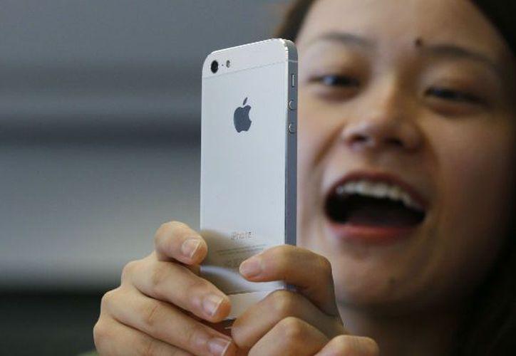 Las acciones de Apple Inc. alcanzaron la cifra récord de 705.07 dólares. (Archivo/AP)