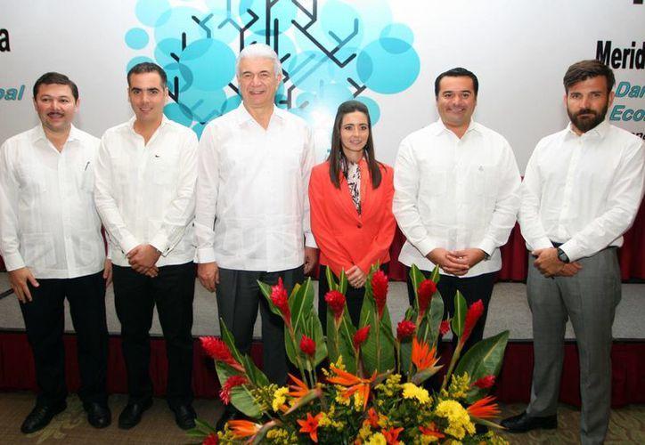 Asume Mariana López Aguado la presidencia de la Asociación de Maquiladoras de Exportación de Yucatán. (Milenio Novedades)