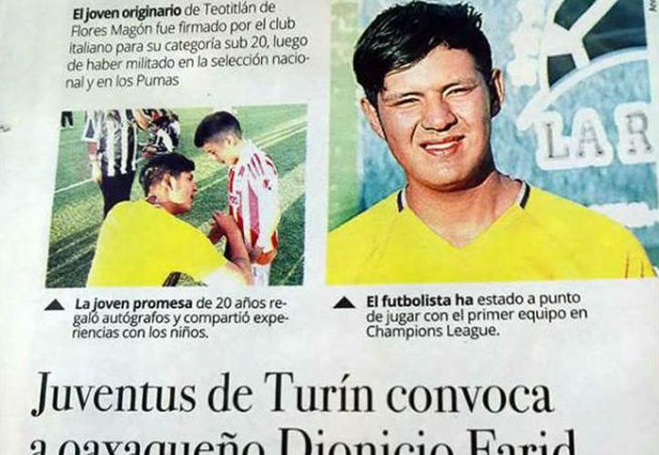 El supuesto futbolista incluso llegó a aparecer en periódicos y radiodifusoras de su localidad. (Infobae)