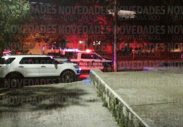 Los hechos ocurrieron alrededor de las 20 horas, sobre la avenida Yaxchilán, a la altura de la Casa de la Cultura de Cancún. (SIPSE)