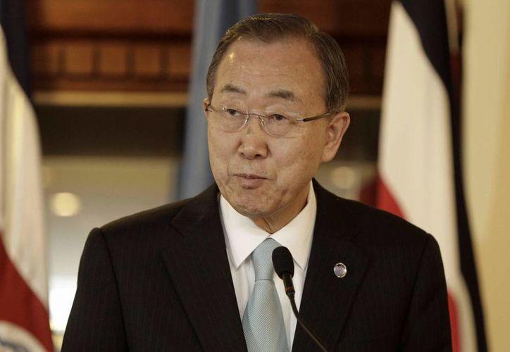"""El secretario general de la ONU, Ban Ki-moon, respaldó hoy la estrategia de Estados Unidos contra el Estado Islámico (EI) y llamó a la comunidad internacional a """"actuar con decisión"""". (Archivo/EFE)"""
