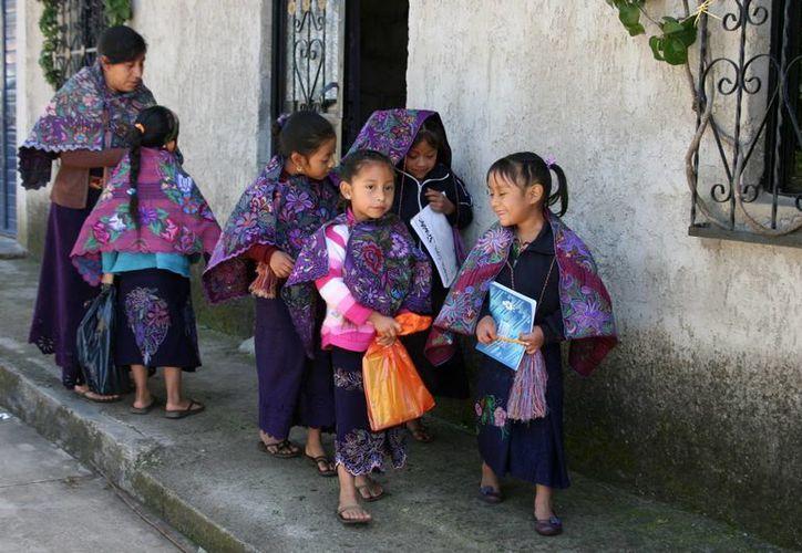 Aunque la mujer chiapaneca ha logrado grandes avances para dignificar su posición, en cuestión de herencias sigue dejada de lado por los usos y costumbres que aún imperan en el estado. (Archivo Notimex)