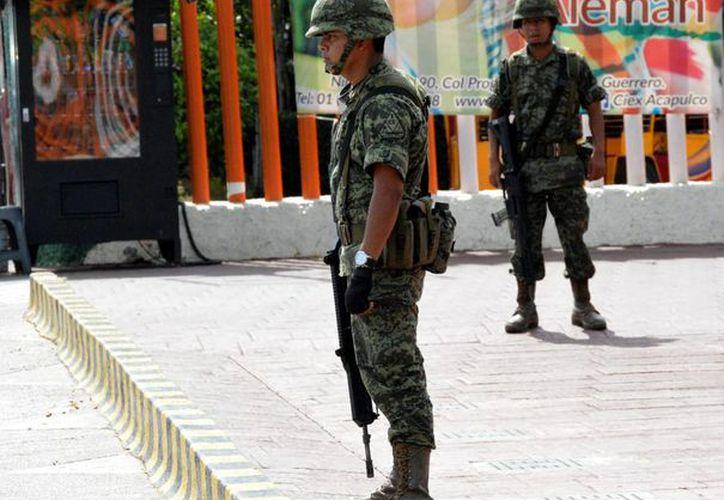 A raíz de las denuncias de extorsión en escuelas, se solicitó el apoyo de fuerzas federales para brindar seguridad. (Archivo/Notimex)