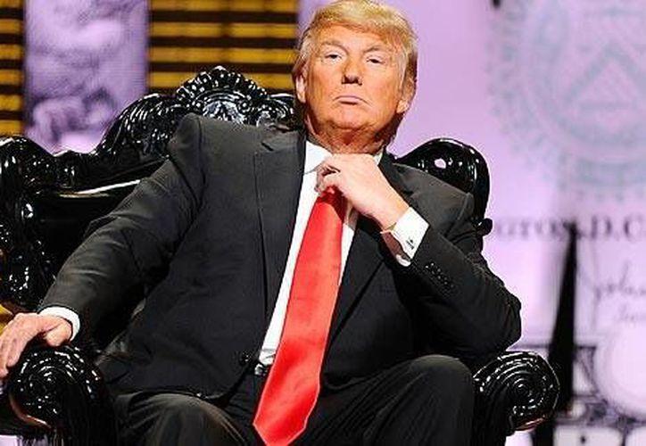 Donald Trump reconoce su instinto para los negocios. (Agencias)