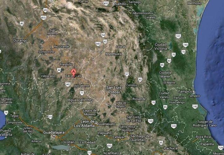 Los primeros dos periodistas desaparecidos este año en México trabajaban para medios de Coahuila, pero Zoila Márquez Chiu para un medio de Zacatecas. (Google Maps)