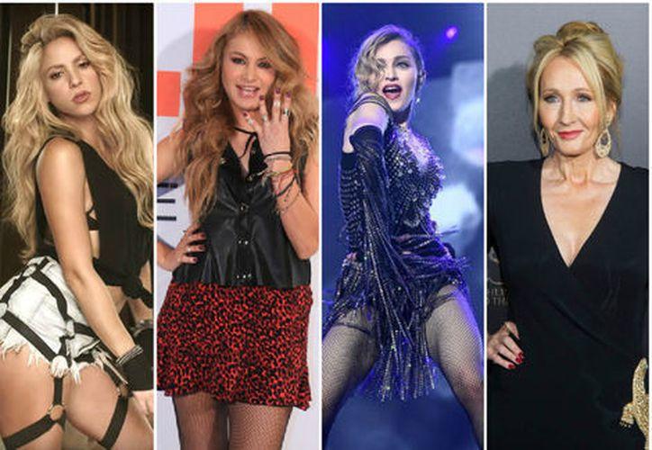 Muchas famosas enviaron felicitaciones por el Día Internacional de la Mujer. (Milenio)